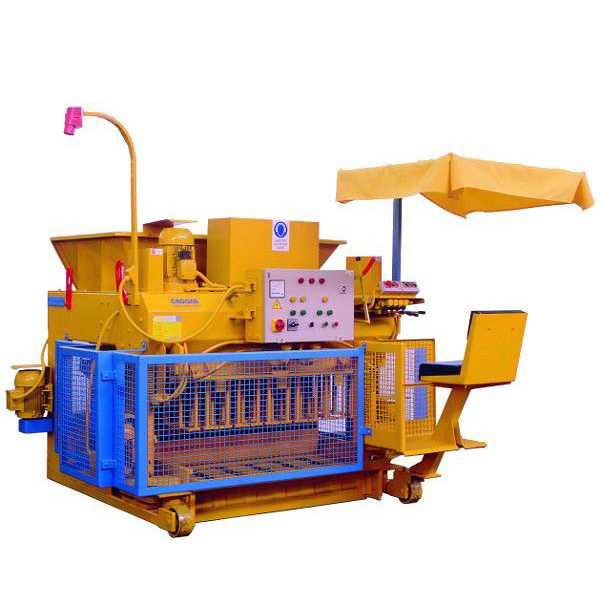 QMY6-25 Mobile Block Making Machine
