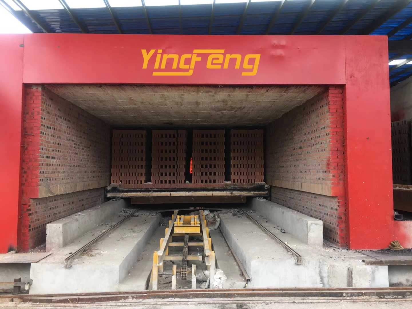 Clay brick dryer and Kiln
